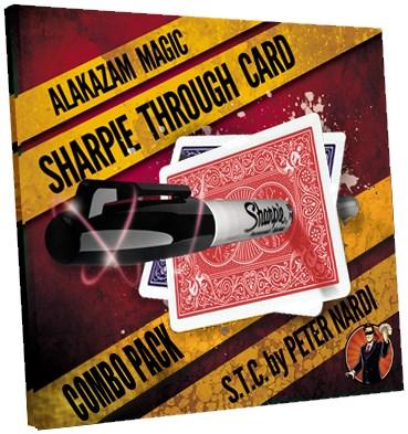 Sharpie Through Card  - magic