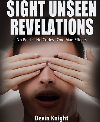 Sight Unseen Revelations - magic