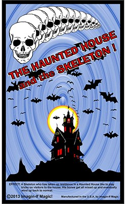 Skeleton and the Haunted House - magic