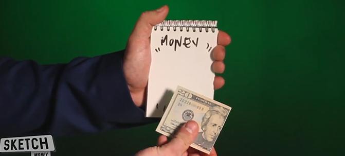 SKETCH MONEY - magic