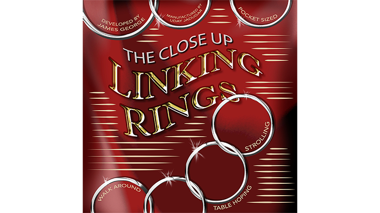 Sorcery's Close Up Linking Rings - magic