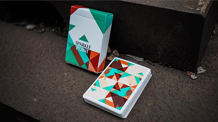 Sparkle Point  Playing Cards - magic