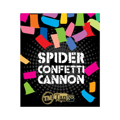 Spider Confetti Cannon - magic