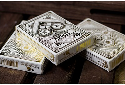 Spirit White Playing Cards - magic