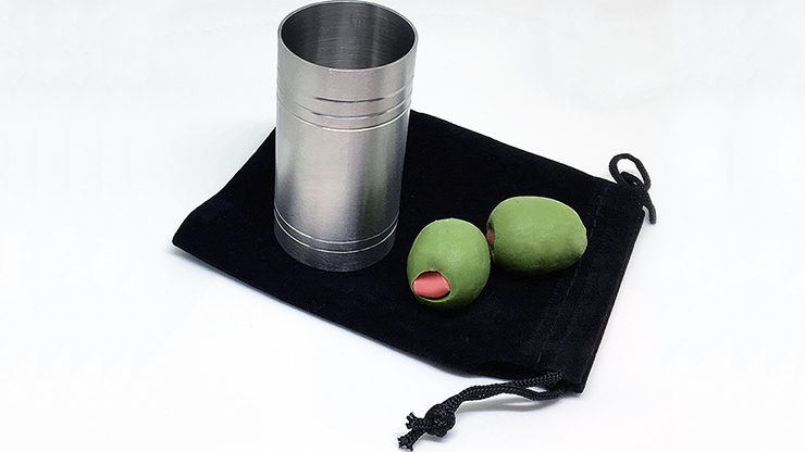 "Spirit/Shot Measure ""Chop Cup"" with Olives - magic"