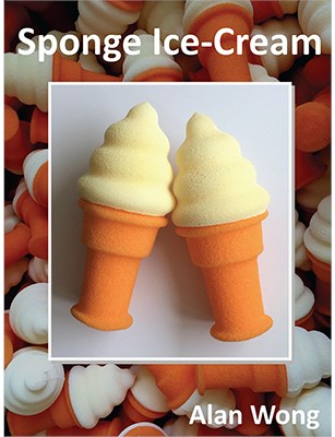 Sponge Ice Cream Cone - magic