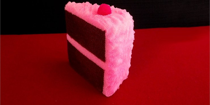 Sponge Slice of Cake - magic