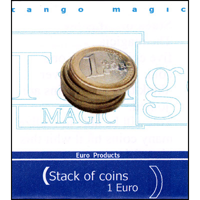 Stack of Coins - 1 Euro - magic
