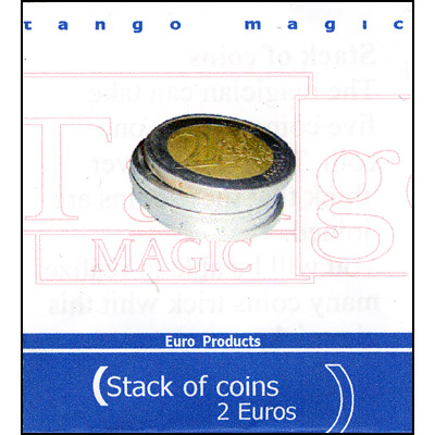 Stack of Coins - 2 Euros - magic