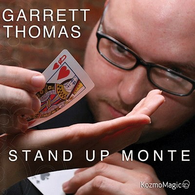 Stand Up Monte  DVD and Gimmick - magic
