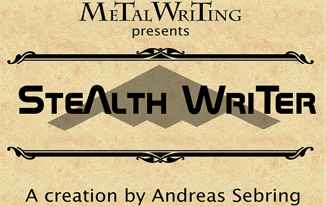 Stealth Writer Complete Set - magic