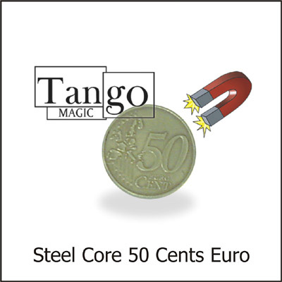 Steel Core Coin - 50 Euro Cents - magic