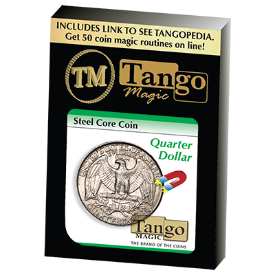 Steel Core Coin - Quarter Dollar - magic