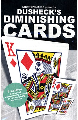 Steve Dusheck's Diminishing Cards - magic