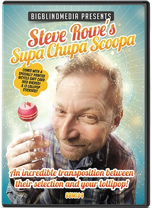 Steve Rowe's Supa Chupa Scoopa - magic