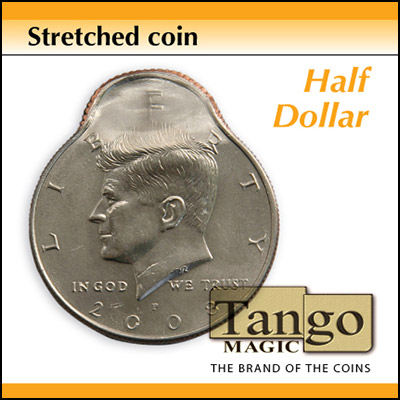 Stretched Coin - Half Dollar - magic