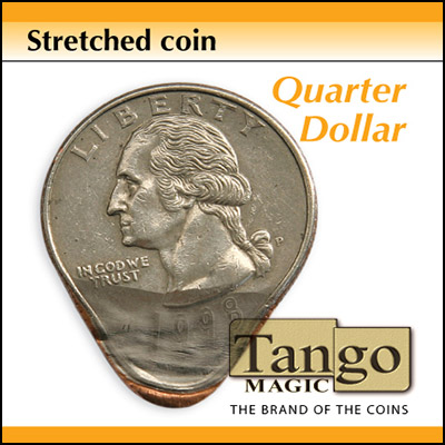 Stretched Coin - Quarter - magic