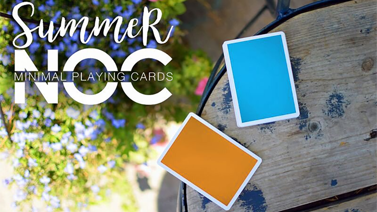 Summer NOC Playing Cards (Blue) - magic