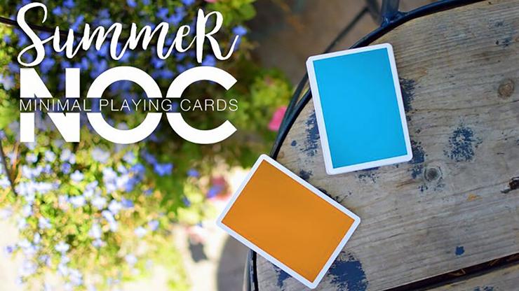 Summer NOC Playing Cards (Orange) - magic