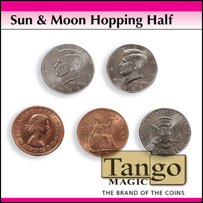 Sun and Moon coin set - magic