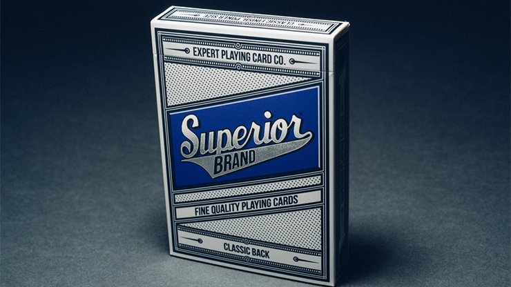 Superior Playing Cards (Blue) - magic