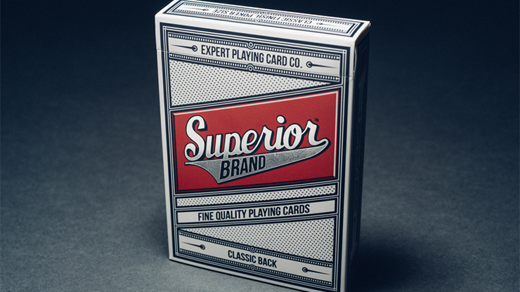 Superior Playing Cards (Red) - magic