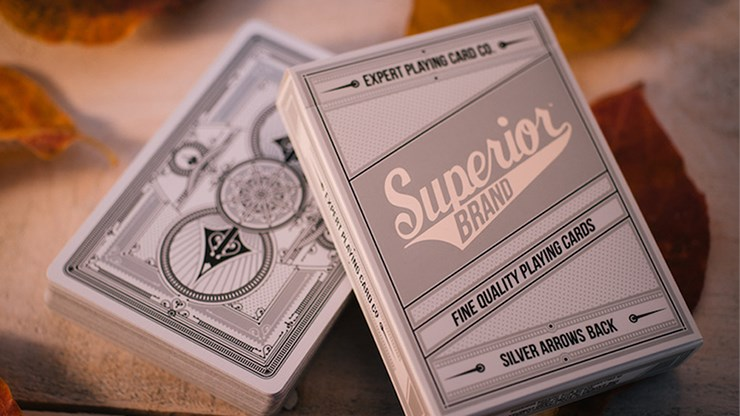 Superior Silver Arrow Playing Cards - magic