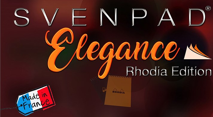 SvenPad® Elegance Rhodia® Edition - magic