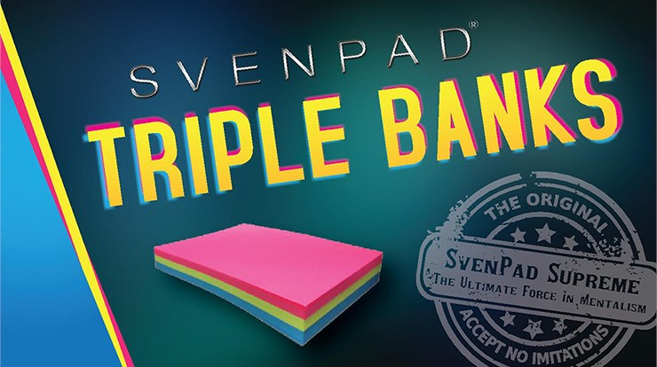 SvenPad® Triple Banks - magic
