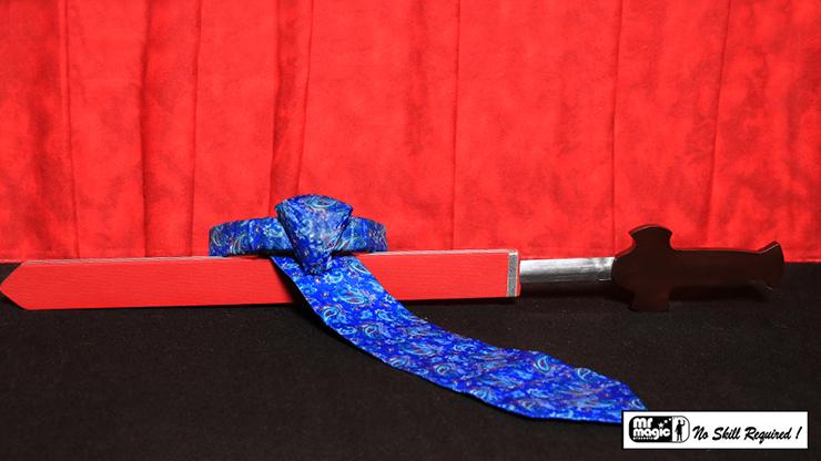 Sword Thru Necktie - magic
