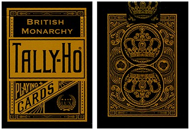 Tally-Ho British Monarchy Playing Cards - magic