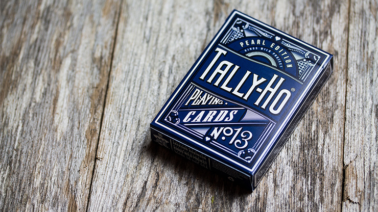 Tally-Ho Pearl  Playing Cards - magic