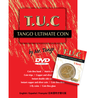 Tango Ultimate Coin - 2 Euros - magic