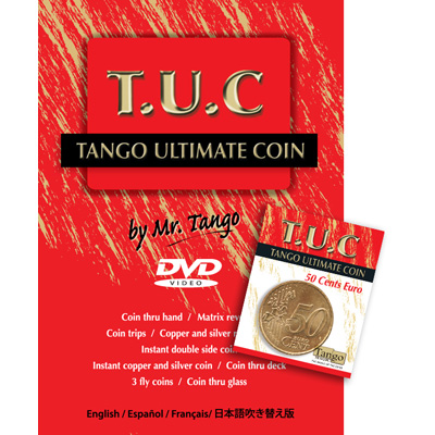 Tango Ultimate Coin - 50 Euro Cents - magic