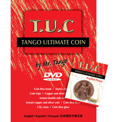 Tango Ultimate Coin - English Penny - magic