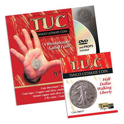 Tango Ultimate Coin - Walking Liberty Half Dollar - Silver - magic