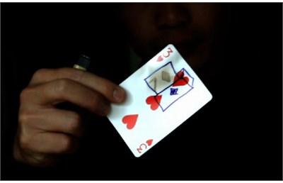 Tattoos on Card - magic