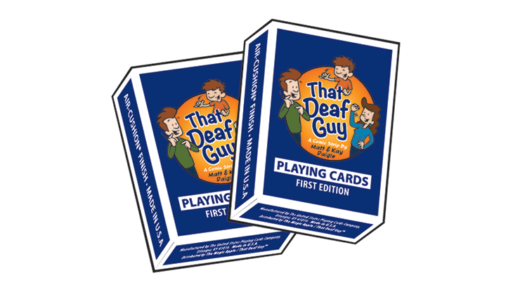 That Deaf Guy Classic Edition Playing Cards - magic