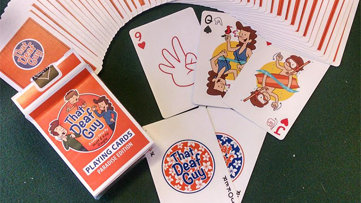 That Deaf Guy Paradise Edition Playing Cards - magic