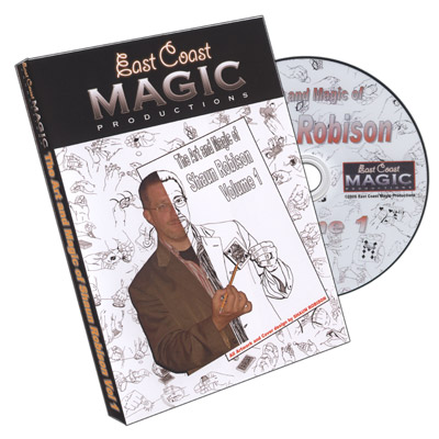 The Art And Magic Of Shaun Robison Volume 1 - magic