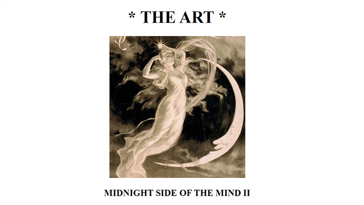 The Art: Midnight Side of the Mind II - magic