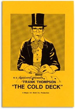 The Cold Deck Manuscript - magic