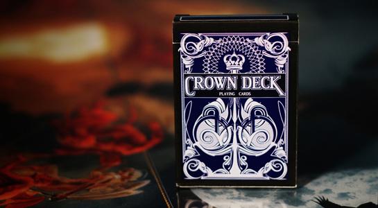 The Crown Deck - Blue - magic