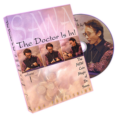 The Doctor Is In - The New Coin Magic of Dr. Sawa Vol 1 - magic
