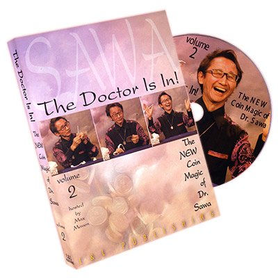 The Doctor Is In - The New Coin Magic of Dr. Sawa Vol 2 - magic