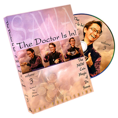 The Doctor Is In - The New Coin Magic of Dr. Sawa Vol 3 - magic
