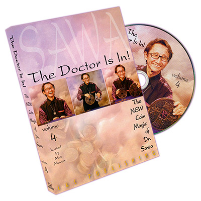The Doctor Is In - The New Coin Magic of Dr. Sawa Vol 4 - magic