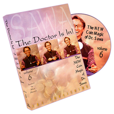 The Doctor Is In - The New Coin Magic of Dr. Sawa Vol 6 - magic