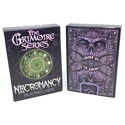 The Grimoire Series (Necromancy) Playing Cards - magic