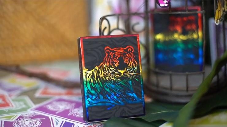 The Hidden King Rainbow Luxury Edition Playing Cards - magic